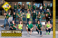 2014 Fall Sports Captains Poster